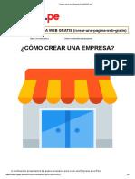 ¿Cómo crear una Empresa_ _ MYPES.pe