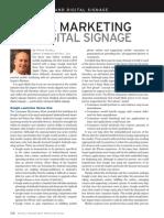 Mobile Marketing and Digital Signage