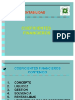 2008 Ratios Financieros
