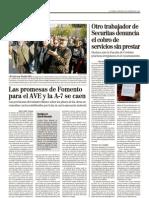 """Securitas. Otro trabajador de Securitas denuncia el cobro de servicios sin prestar. Fuente diario """"El Mundo"""""""