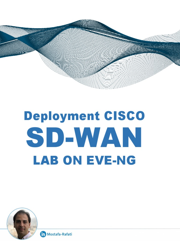 Deployment Cisco Sd Wan Lab On Eve Ng Pdf Active Directory Virtual Private Network