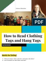 fabrics textiles lesson