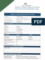 Radiography Fatigue Plan 08.12.2020-15.12.2020 RT (Jetty)