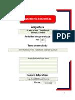 ACTIVIDAD 1 SUBTEMA 3.1 DETERMINACION DEL TAMAÑO DE UNA INSTALACION.ANGULO RODRÍGUEZ DIMAS JOSUÉ