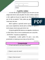 Ficha língua portuguesa 2º ano