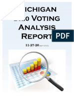 Michigan 2020 Voter Analysis Report