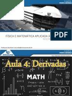 Aula 4 - Física e Matemática Aplicada à Arquitetura