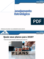 Aula 2 - Planejamento Estratégico