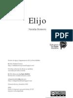 Natalia Romero - Elijo (PDF)