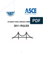 Steel Bridge Rules 2011