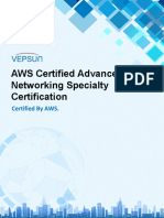 AWS Certified Advanced Networking