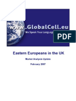 GlobalCell Target Market Analysis - February 2007 Update