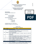 calendario MB basica I 2011 seccion 1302
