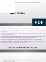 SUSTENTACION DE FUNDICIONES