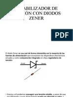 13- ESTABILIZADOR DE TENSION CON ZENER