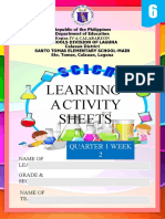 activity sheets in Science