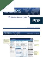 iFOREX entrenamiento para operar 1.1