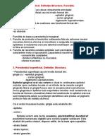 examen parodontologie