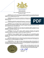 Governor Wolf Proclamation - Get Covered 2021 Pennsylvania Day, 2020