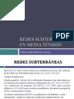REDES SUBTERRÁNEAS EN MEDIA TENSION
