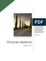 Plantilla Diseño de Proyectos Con Orientaciones - V3