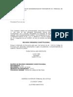 EXCELENTÍSSIMO SENHOR DESEMBARGADOR PRESIDENTE DO TRIBUNAL DE JUSTIÇA DE SÃO PAULO