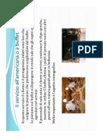 Servizio al BUFFET e GUERIDON 02-12-2020