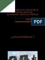 Del umbral de la conciencia estética. Civilización. Cultura y Poéticas