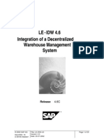 Integration with decentarlised wharehouse