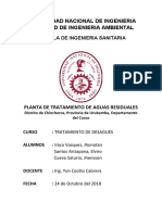 MEMORIA CÁLCULO - LAGUNAS PTAR CHINCHEROS