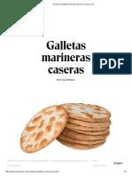 Receta de Galletas marineras caseras _ Cocina y Vino