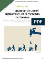 Derecho al agua _ Consecuencias de que el agua cotice en el mercado de futuros - El Salto - Edición General