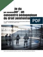 """«Le """"Guide du prisonnier"""", un concentré pédagogique du droit pénitentiaire» - Libération"""