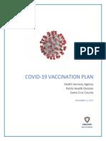 Santa Cruz County COVID-19 Vaccination Plan