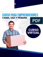 CURSO VIRTUAL CHINA, USA Y PANAMA