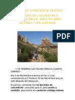 Cuarto Camino Consciencia word2007