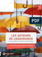 DIGIMIND-Etude Assurances2017-Performance-Reseaux-Sociaux