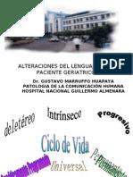 alteraciones del lenguaje   upch en el paciente geriatrico2