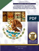 Compendio de historia moderna de México y sus repercusiones en Yucatán de varios autores