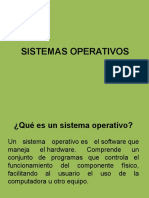 SISTEMAS OPERATIVOS CLASE