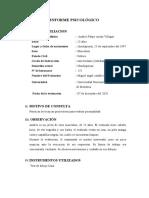 INFORME- TEST DE LA CASA
