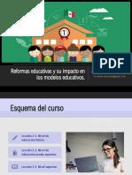 Reformas educativas y su impacto en los modelos educativos