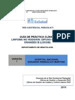 LINFOMA NO HODGKIN DIFUSO CELULAS GRANDES B (LDCGB)