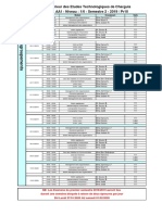 Planing tutorat et regroupement FC AA1 2019 2020