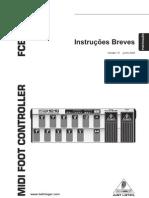 Manual FCB 1010 behringer