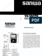 Sanwa YX-360TR Multitester