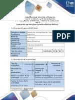 Guía de actividades y rúbrica de evaluación – Fase 5 – Evaluación nacional POA (prueba objetiva abierta)
