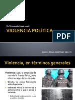 Martinez Meucci VIOLENCIA POLÍTICA
