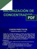 COMERCIALIZACIÓN DE CONCENTRADOS