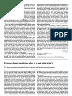Evidence Based Medicine Paper